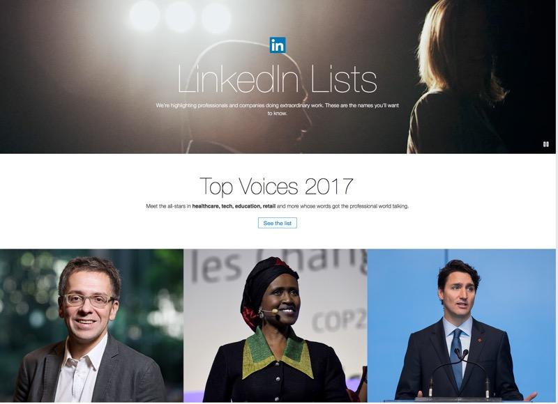 _LinkedIn Top Influencer 2017_